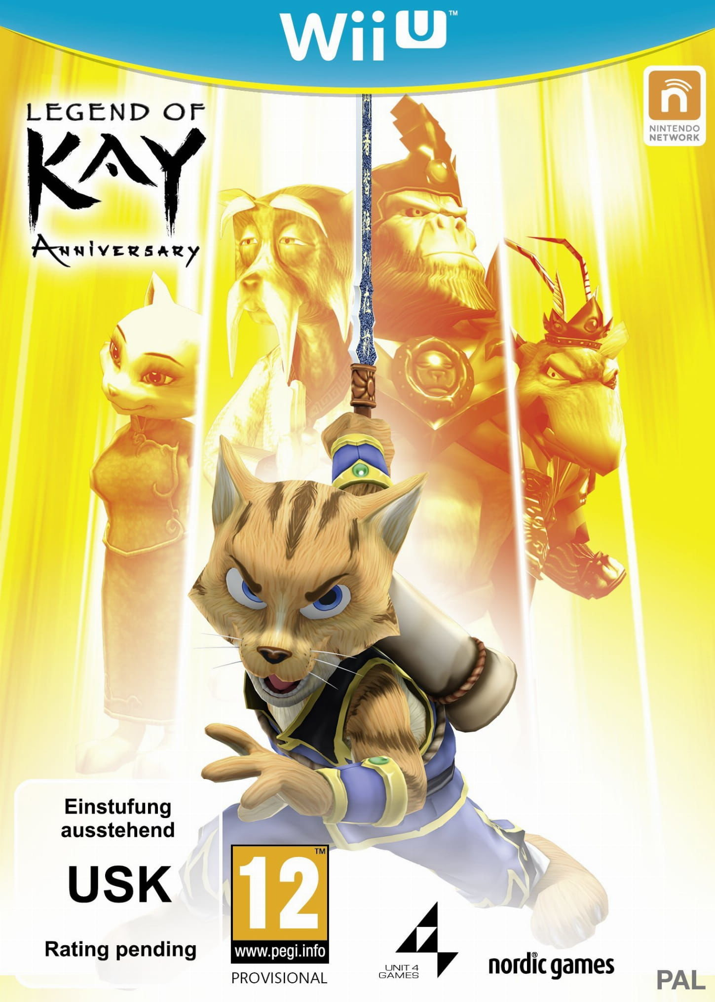 Gra Legends of Kay Anniversary (Nintendo WiiU)