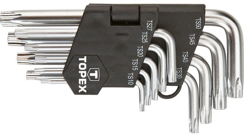Klucze pięciokątne z otworem TS10-50 (zestaw 9 szt.) 35D950