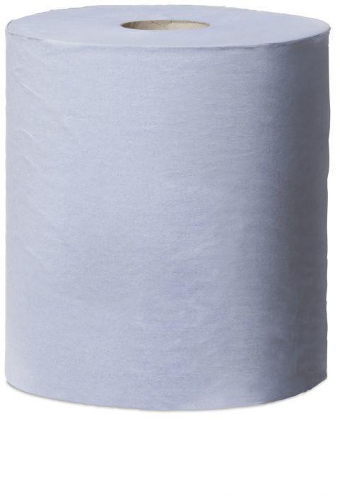 Czyściwo papierowe Tork Reflex  do lekkich zabrudzeń w roli, niebieskie