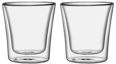 Tescoma Mydrink 250 Ml 2 Szt. - Szklanki Do Kawy I Herbaty Termiczne Z Podwójnymi Ściankami Szklane