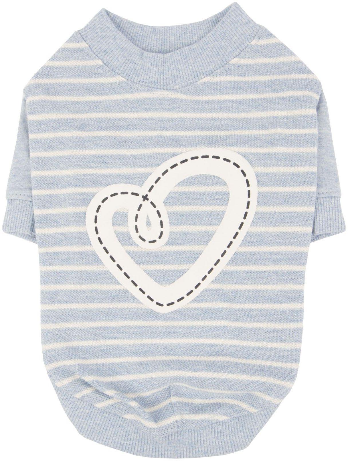 Pinkaholic New York NARA-TS7304-MB-S Ml.Blue Aviana koszulka dla zwierząt domowych, małe
