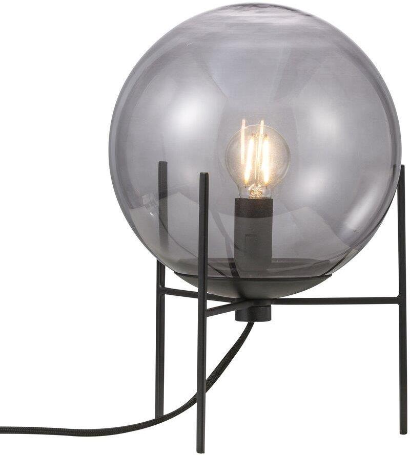Lampa stołowa Alton 47645047 Nordlux dekoracyjna oprawa z dymionego szkła