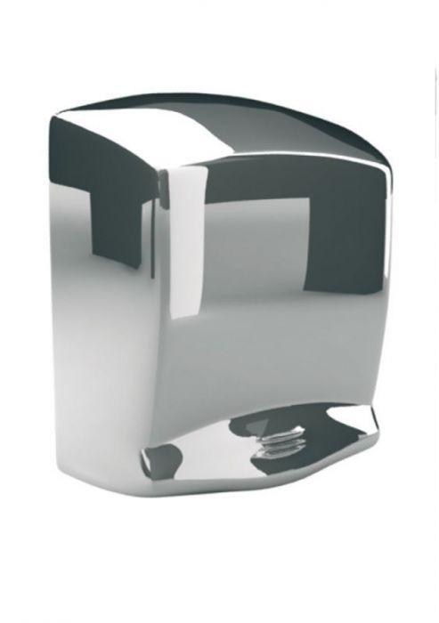 Elektryczna suszarka do rąk Optima - obudowa metalowa, stal polerowana