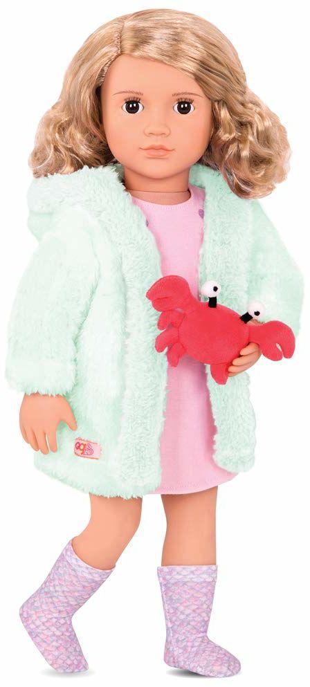 Our Generation - Strój lalki ze szlafrokiem i pluszakiem