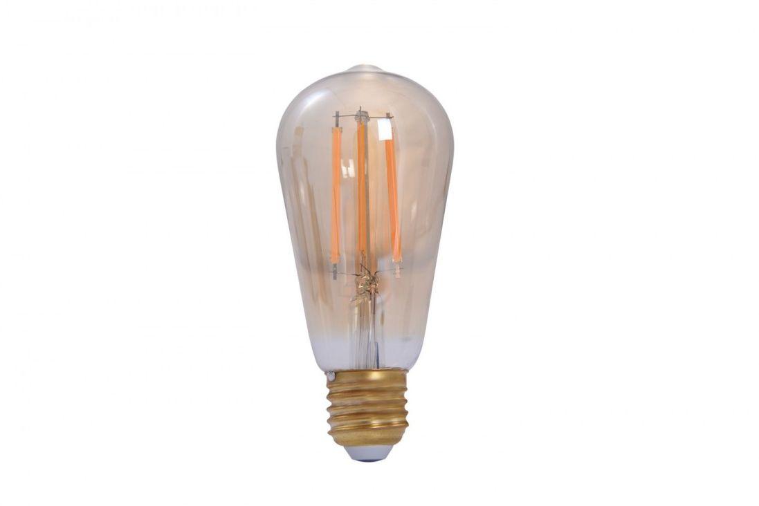 Żarówka smart WiFi E27 7W CCT Amber glass EDISON AZ3210- AZzardo