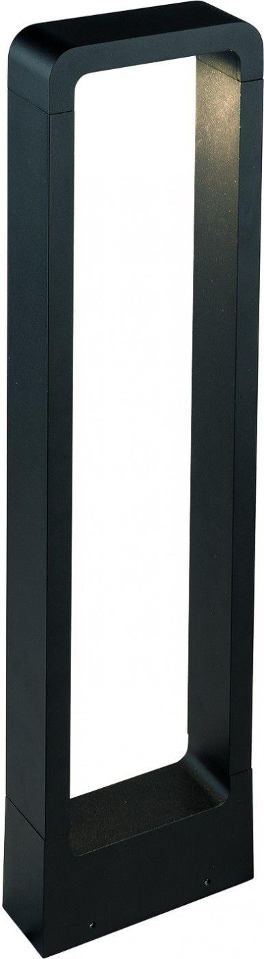 Lampa ogrodowa Thika LED 9118 Nowodvorski Lighting nowoczesna oprawa w kolorze czarnym