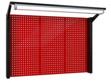 N-4-10-04 Tablica na narzędzia z samą kratownicą i oświetleniem