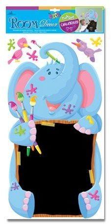 Naklejki z tablicą słoń