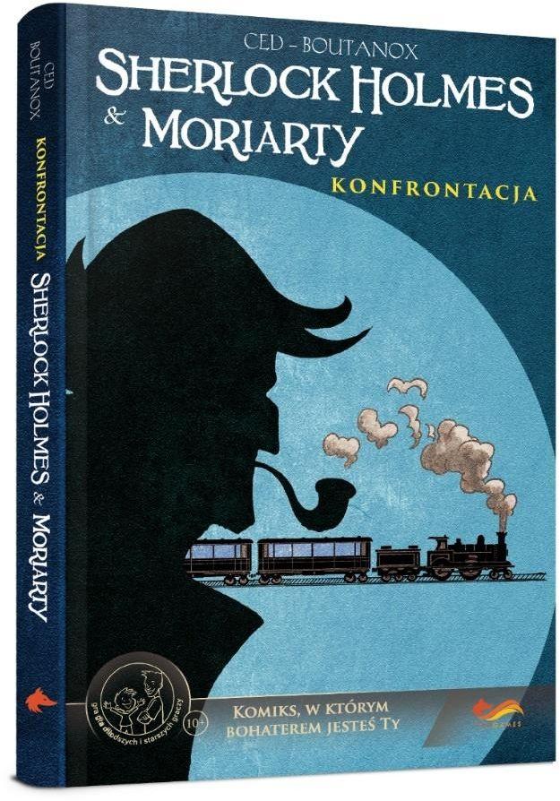 Komiksy paragrafowe Sherlock Holmes & Moriarty