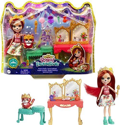 Enchantimals GYJ05 mini lalki i figurki kolekcjonerskie, wielokolorowe