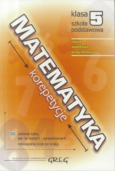 Matematyka SP 5 korepetycje w.2018 GREG - Roman Gancarczyk