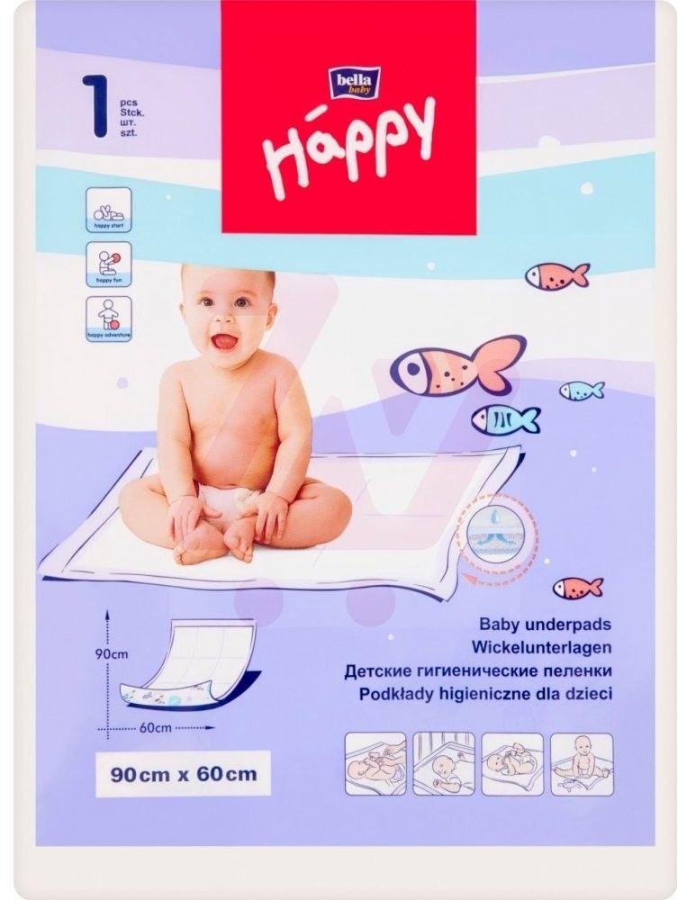 Bella Happy Podkład higieniczny 60x90cm 1szt