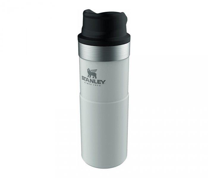 Kubek termiczny Stanley 470 ml TRIGGER ACTION TRAVEL MUG (biały)