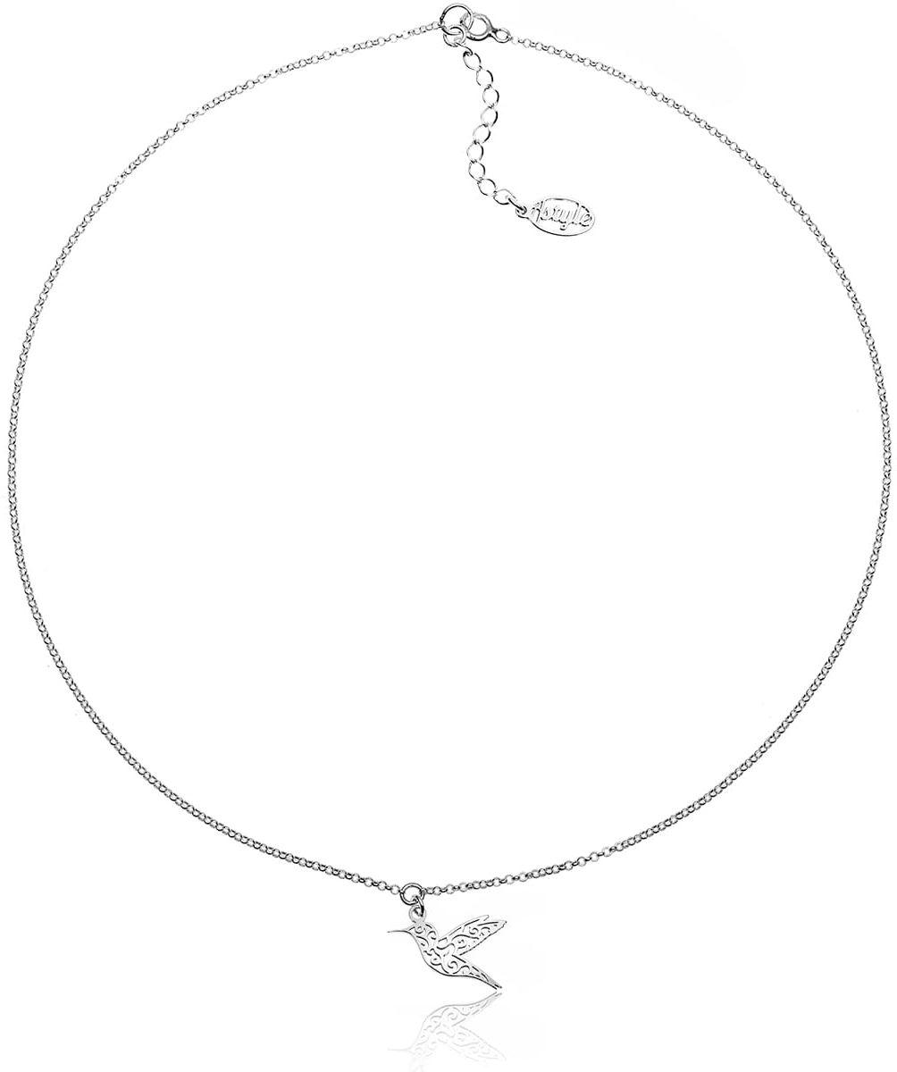 Naszyjnik koliber ażurowy