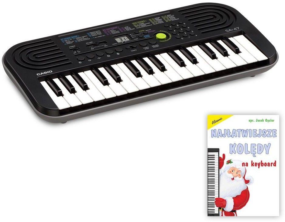 Casio SA-47 - keyboard + książeczka - Raty 30x0%!