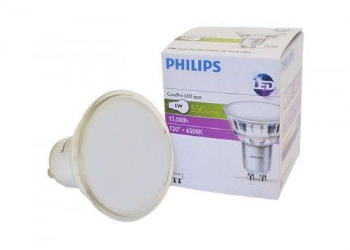 Żarówka LED Philips GU10 5W biała zimna 120  CLA LEDspotMV