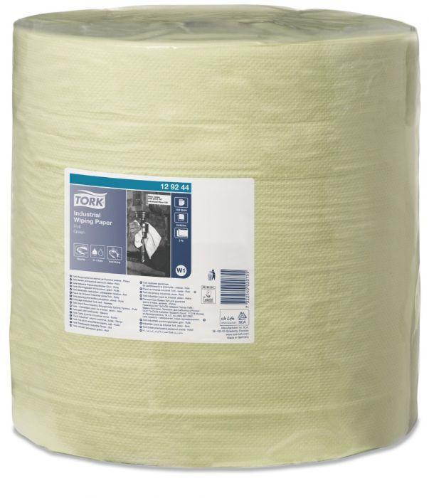 Czyściwo papierowe Tork do zabrudzeń przemysłowych zielone