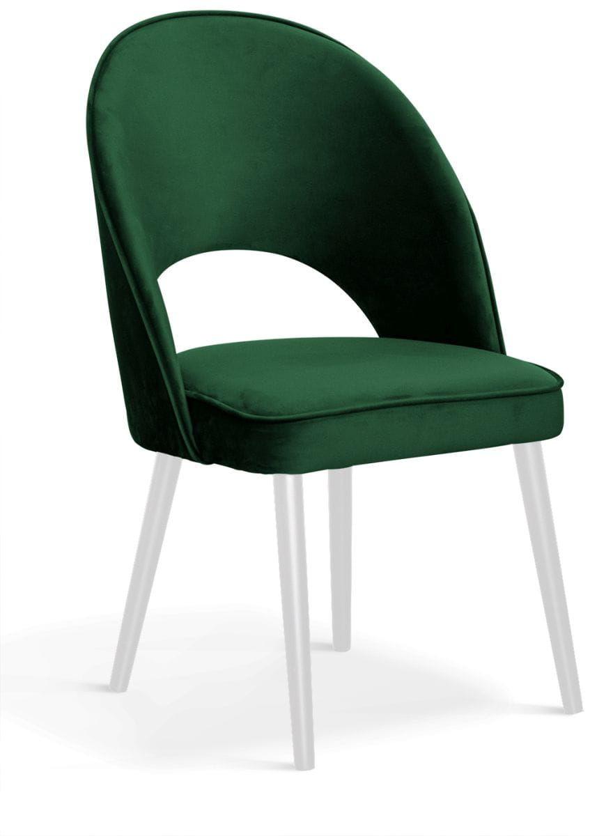 Krzesło tapicerowane PELA nogi metalowe różne kolory tapicerki