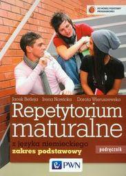 Repetytorium maturalne z języka niemieckiego Podręcznik + 2CD Zakres podstawowy ZAKŁADKA DO KSIĄŻEK GRATIS DO KAŻDEGO ZAMÓWIENIA