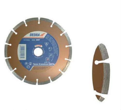 Tarcza diamentowa SEGMENTOWA do cięcia betonu, cegły, klinkieru, kamienia 125/22,2mm DEDRA H1107
