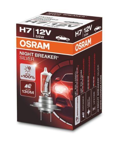 żarówka halogenowa H7 NIGHT BREAKER SILVER - OSRAM