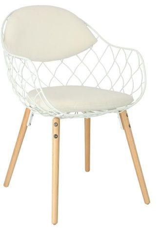Krzesło Jahi Białe