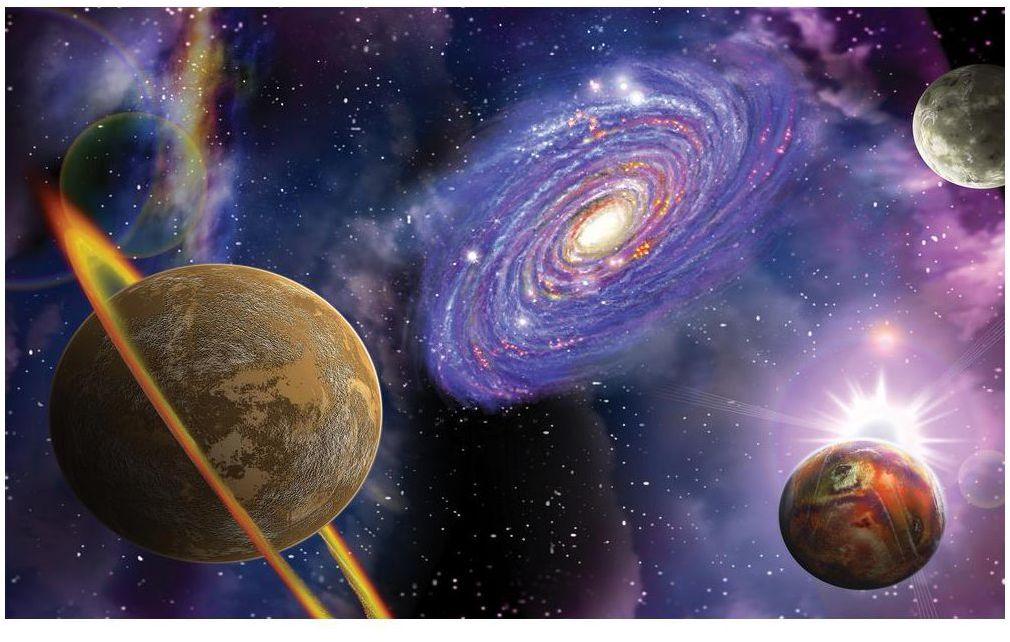 Fototapeta Planety 208 x 146 cm