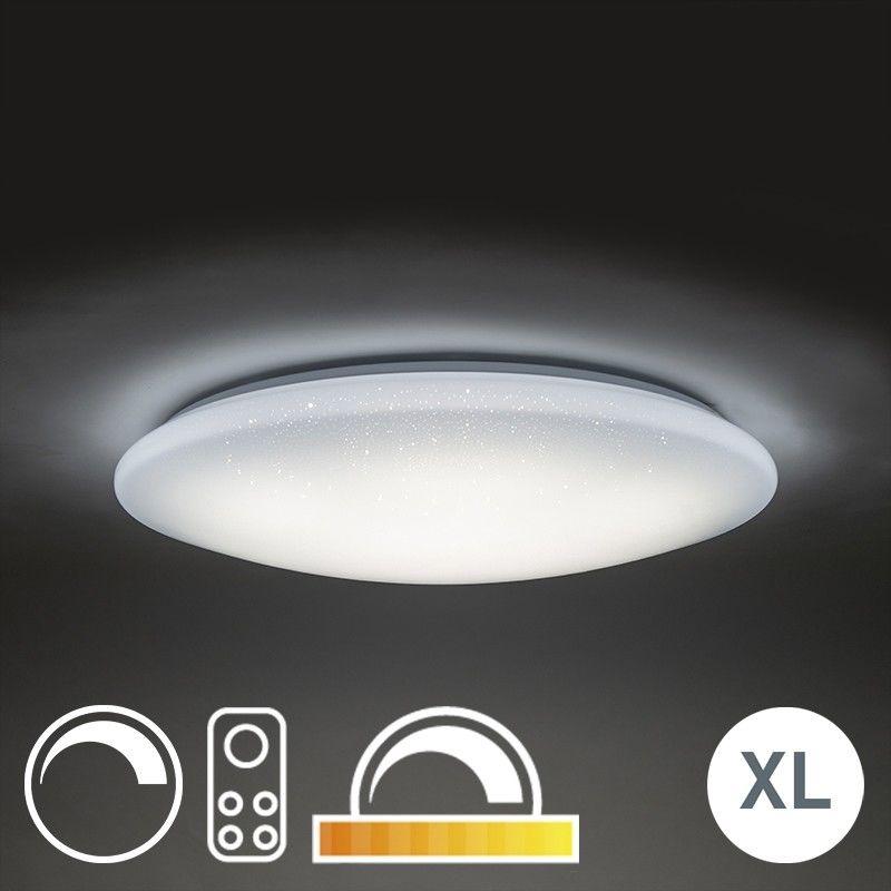 QAZQA Plafon LED gwieździste niebo 80cm z pilotem - Extrema