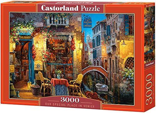 Castorland C300426 hobby panoramiczne nasze specjalne miejsce w Wenecji puzzle, zestaw 3000 sztuk, wielokolorowe