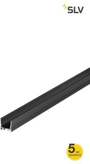 Oprawa sufitowa GRAZIA 20 LED natynkowy, standard, 2m, czarna 1000513 - Spotline / SLV