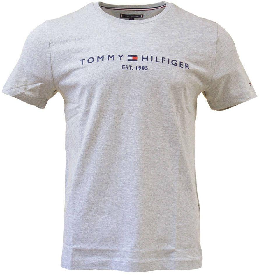 Koszulka męska Tommy Hilfiger T-Shirt szara - MW0MW11465 501