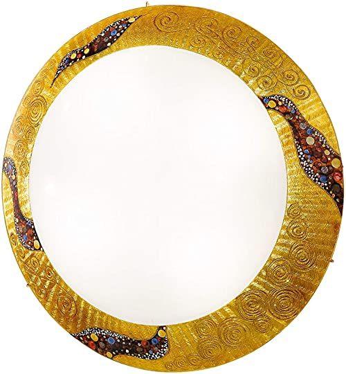 Kolarz 0365.U13.3 A++ do E, lampa sufitowa, szkło, 60 W, E27, 20 x 47 x 9 cm