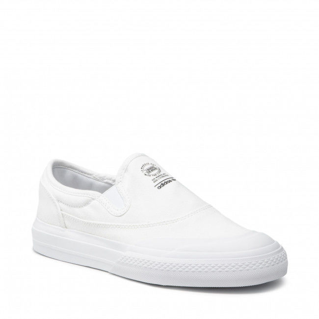 Tenisówki adidas - Nizza Rf Slip S23725 Ftwwht/Ftwwht/Cblack