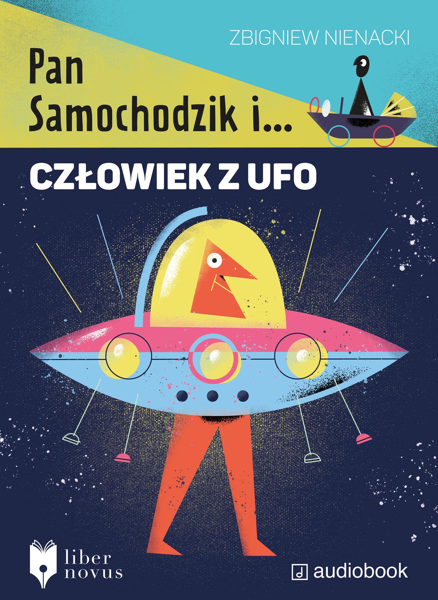 Pan Samochodzik i człowiek z UFO - Zbigniew Nienacki - audiobook