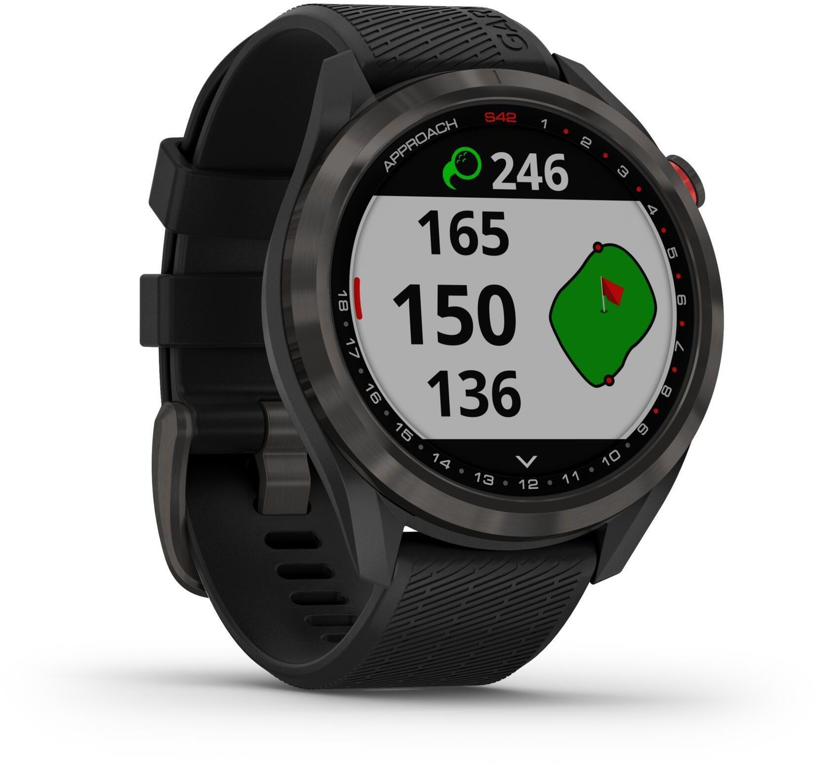 Zegarek do golfa GPS Approach S42