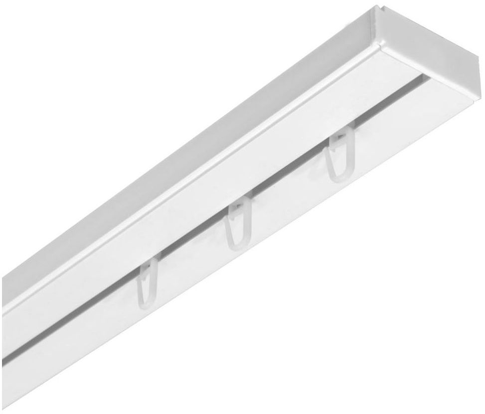 Szyna sufitowa 1-torowa 180 cm z akcesoriami PVC