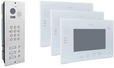 Wideodomofon vidos 3 x m670w/s603d - szybka dostawa lub możliwość odbioru w 39 miastach
