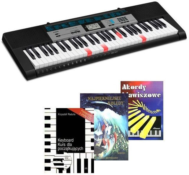 CASIO LK-136 - keyboard + książeczki + kolędy - Raty 30x0%!