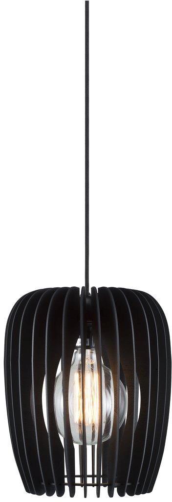 Lampa wisząca Tribeca 24 46423003 Nordlux ażurowa dekoracyjna oprawa w kolorze czarnym