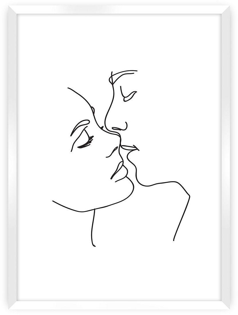Plakat Kiss Line