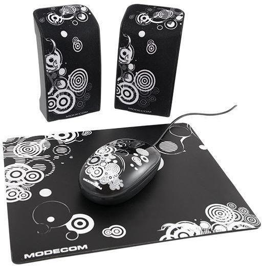 Zestaw głośników MODECOM G-W-STARTER-ART-2 (2.0; kolor czarny)