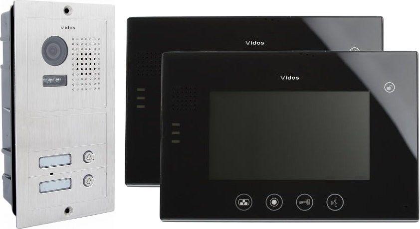 Wideodomofon vidos 2 x m670b/s602 - szybka dostawa lub możliwość odbioru w 39 miastach