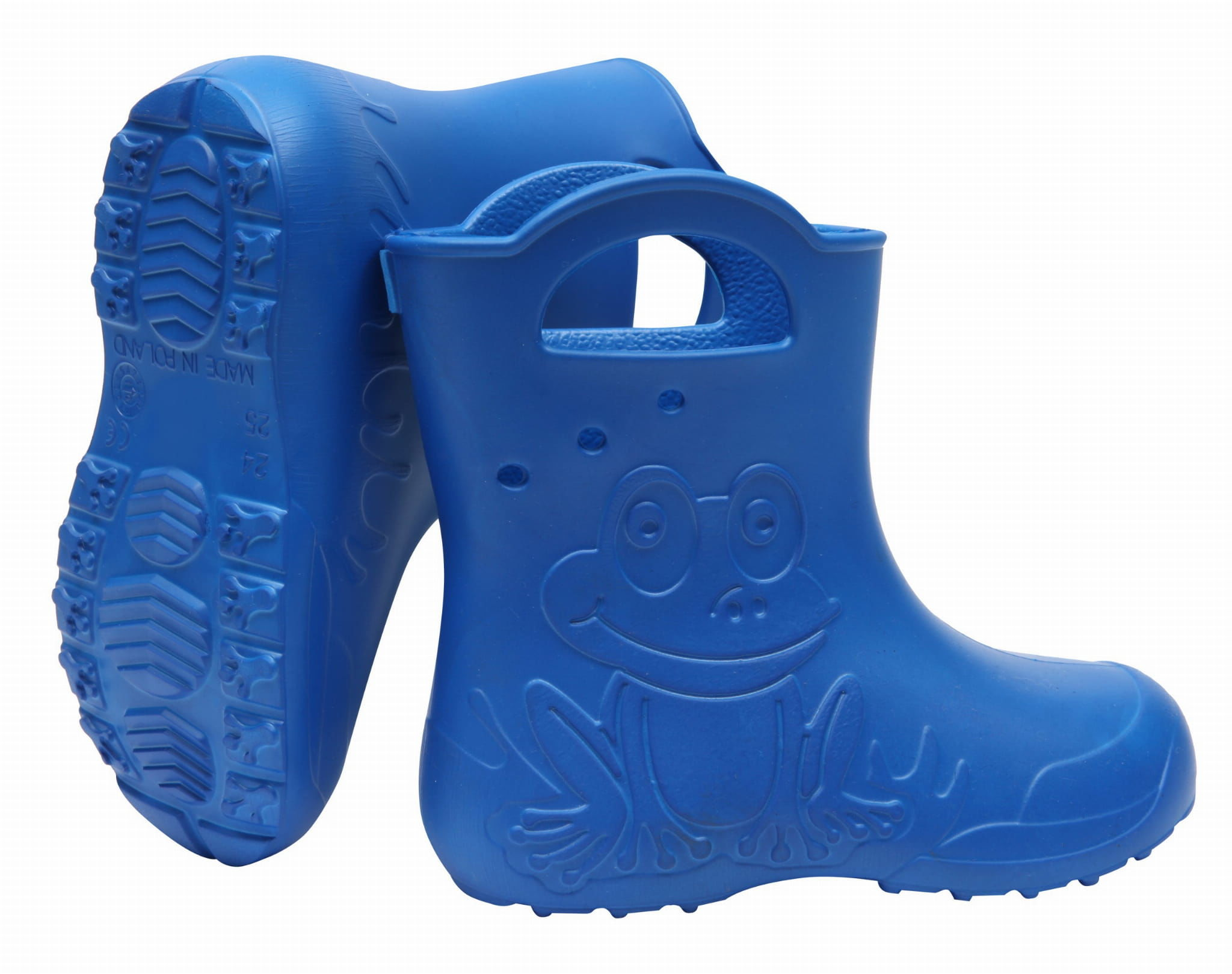 ZETPOL kalosze dziecięce EVA Frog Blue
