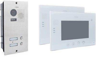 Wideodomofon vidos 2 x m670w/s602 - szybka dostawa lub możliwość odbioru w 39 miastach
