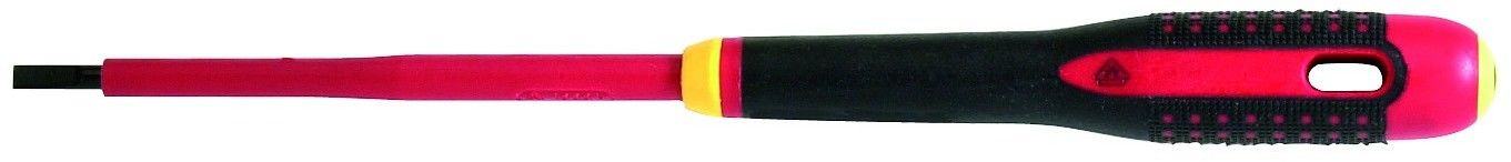 wkrętak izolowany do śrub płaskich 0,5x3,0x100mm VDE ERGO Bahco [BE-8220S]