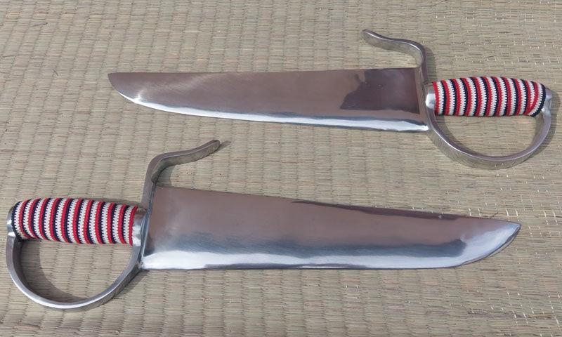 Miecze motylkowe treningowe z aluminium