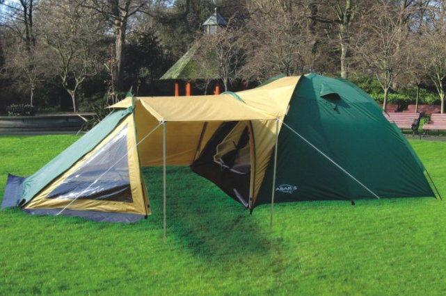 Namiot turystyczny Abarqs TRAPER-4B Oliwka 4 osobowy