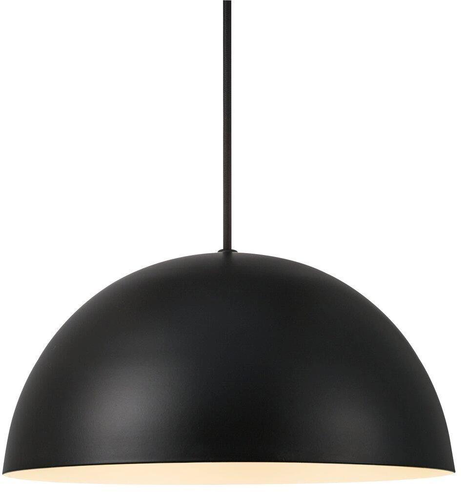 Lampa wisząca Ellen 30 48563003 Nordlux czarna oprawa w uniwersalnym stylu