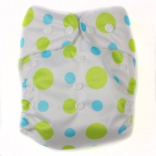 pieluszka wielorazowa PUL green dots
