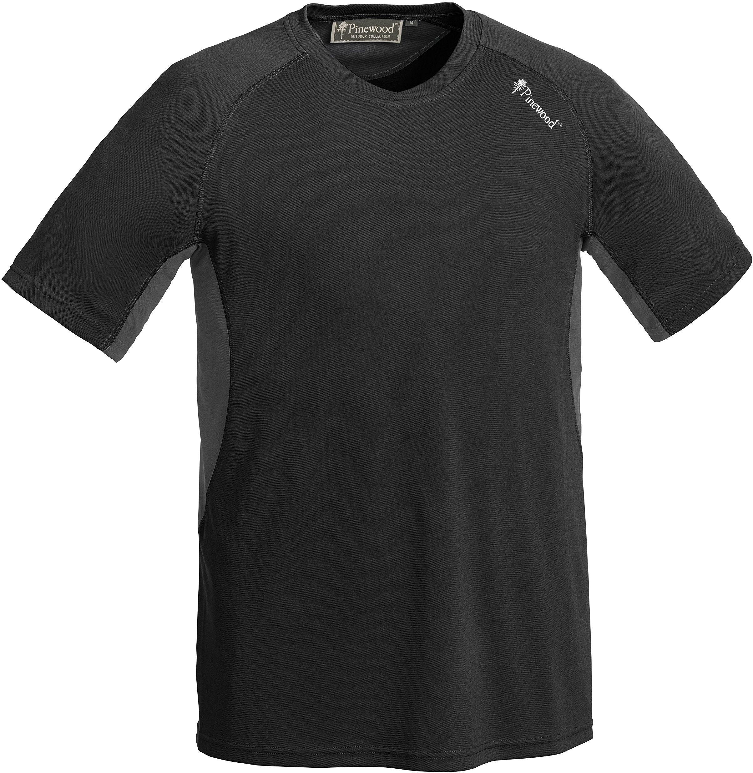 Pinewood Activ T-Shirt męski, czarny/szary, M